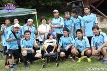 Los Amigos de André, equipo campeón de la 3era. Copa Confraternidad del CLT