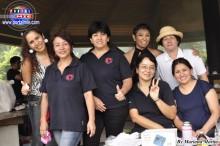 Madres voluntarias, muy felices trabajando por los niños del CLT!