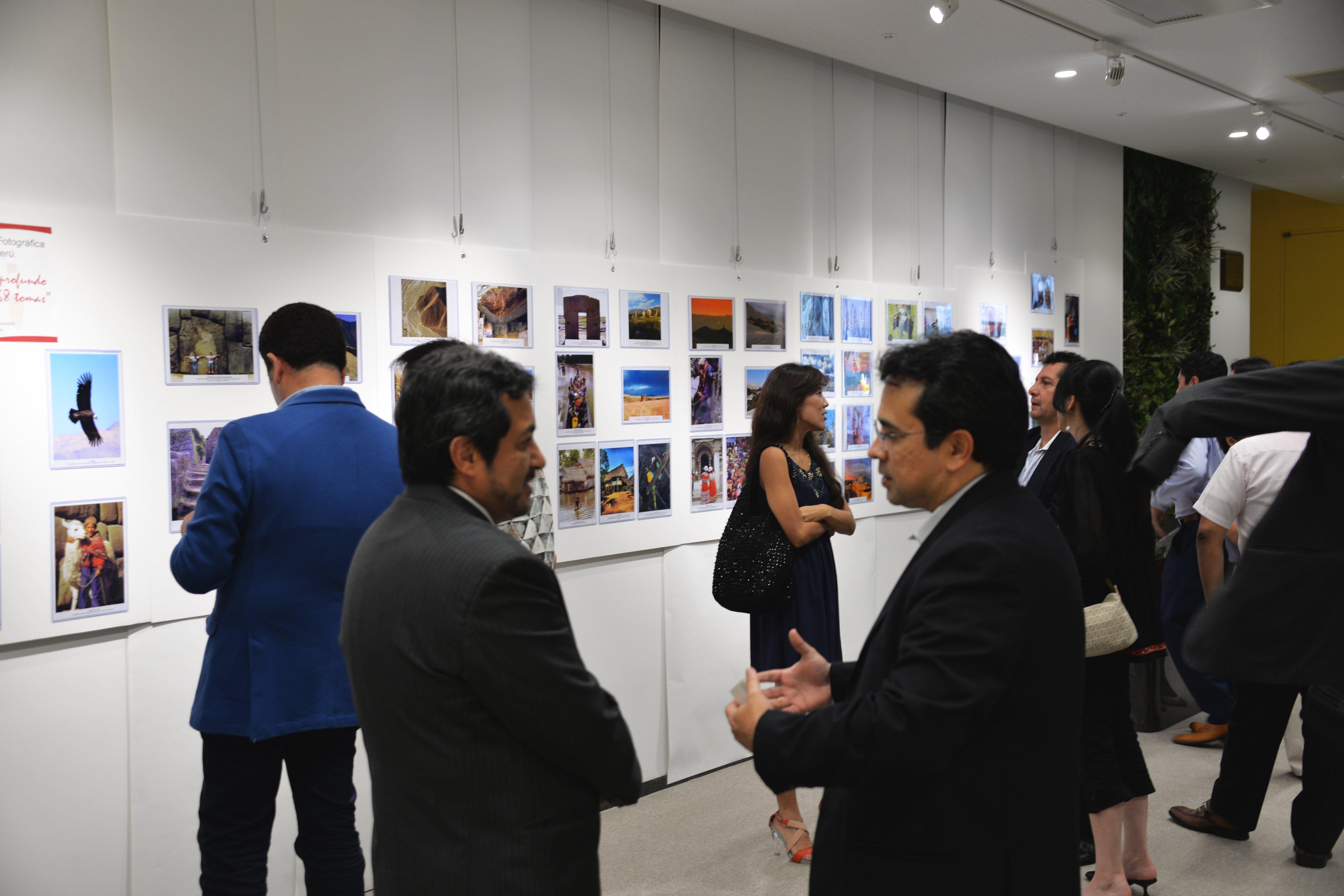 Inauguración de la exposición de fotos