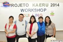 Proyecto Kaeru Psicólogos del Proyecto Kaeru y Guida Suzuki de la NPO ABT.
