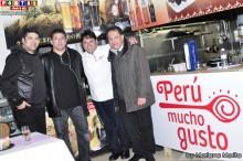 Giuliano, Carlos, José y Julio organizadores de la Cena Romántica.