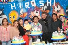 Celebrando el primer añito de Hiroshi