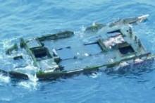 Barco destruido