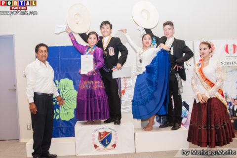 Valeria y Antonio Campeones Categoría Junior.