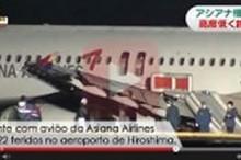 asian avion 22 feridos