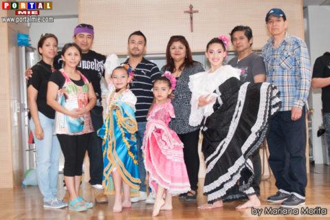 Academia Tradición Pasión acompañados del mayordomo Alberto Ichinose y organizadores.