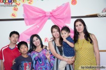 Familias celebrando el Dia de Mama