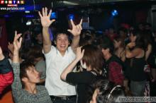 Gran diversión en la fiesta de despedida de Skyline!