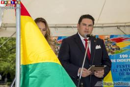 Erick Saavedra, Embajador de Bolivia