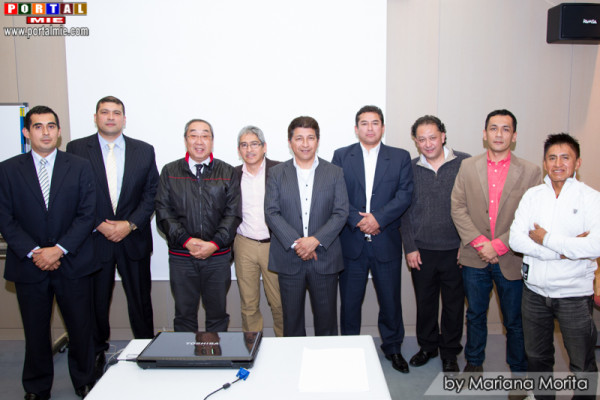 Participantes de la Asamblea ASPEJA