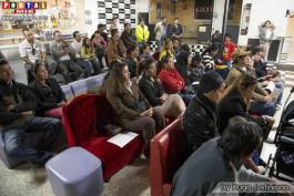 Numeroso público asistente