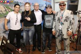 Dennys, Angelica, Alejandro, Pokotyn y Pedro.