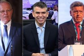 Julio Guzmán, PPK y Cesar Acuna