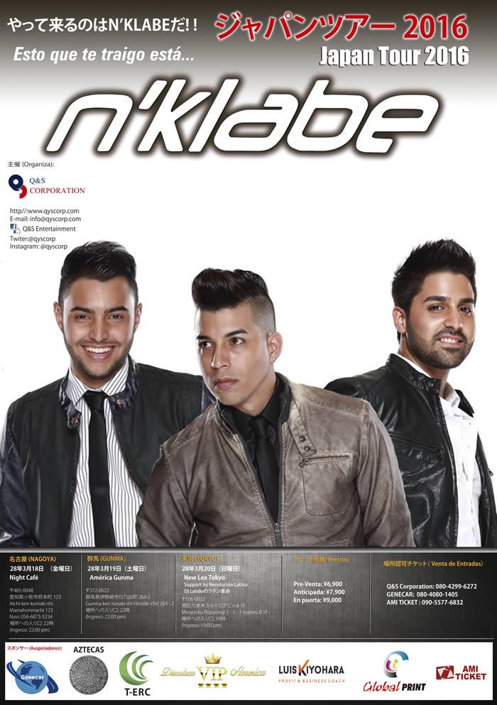 N´ Klabe Japan Tour 2016