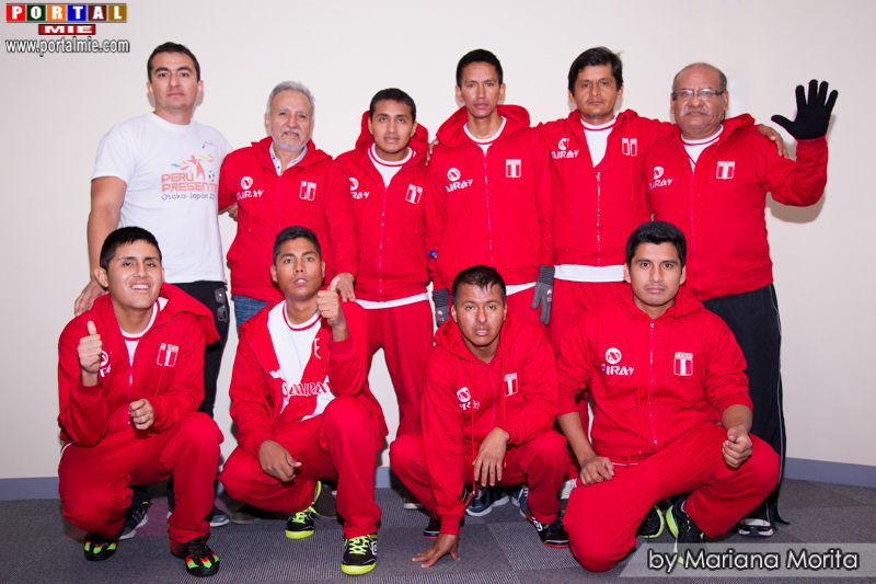 Selección Futsal Peruana Pro Salud Mental, coordinador, técnico y siquiatra