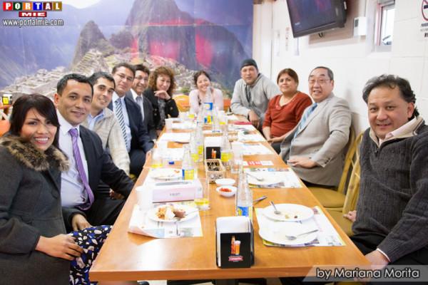 """Almuerzo de confraternidad en el restaurante """"Kancha"""""""