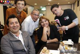 Mario, Julio, Ita y Hiro