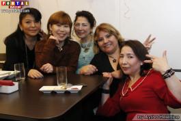 Patricia, Rosario, Elza Ita y Beth