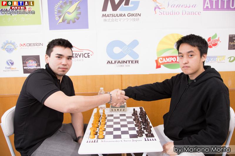 Campeón y vice campeón general Daniel y Wesley