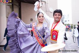 Desde Perú Campeones Gisela Gonzales y Gamaniel Flores