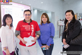Jorge Guerrero personal staff y amigas