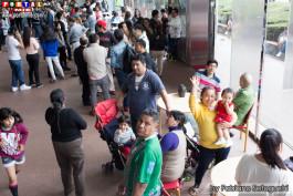 Peruanos acuden masivamente a votar en Nagoya