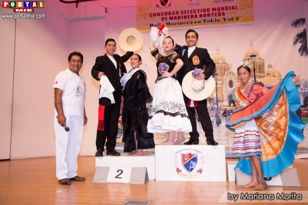 Categoría Junior: Fujiwara Nikole y Antonio García Lopez