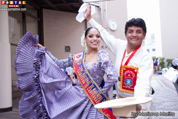 Jurado Gisela Gonzáles y Gamaliel Flores.