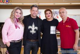 Audrey, Enrique de Mello, Alejandra y Marcio