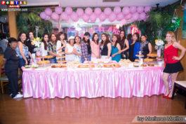 Bellas damas festejando el cumpleaños de Fabiana