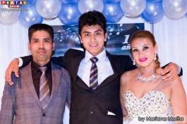 Richard y Yekita padres de Marcelo