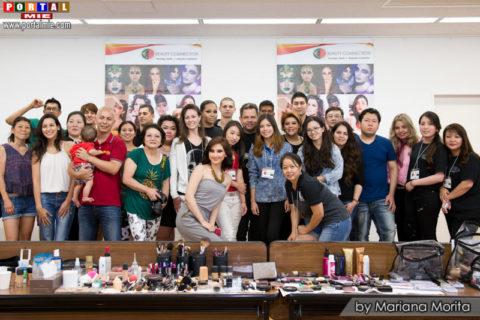 organizadores y particpantes del Workshop Beauty Connection