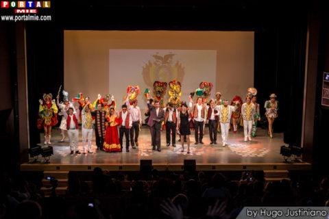 Espectáculo cultural de música y danza de Bolivia Bolivia