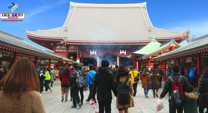 Apariencia de Sensouji, siempre visitado por turistas.