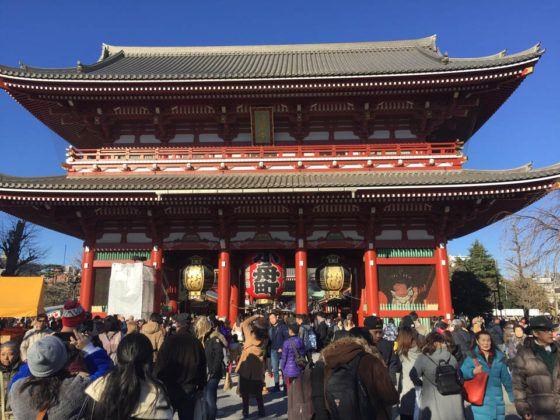 Hozomon , el principal portón del Sensoji