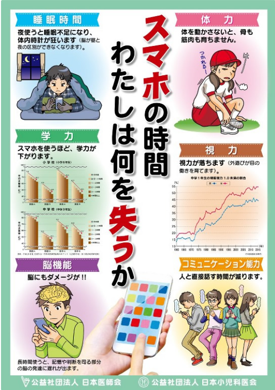 &nbspAsociaciones médicas en Japón alertan sobre el uso excesivo de smartphone