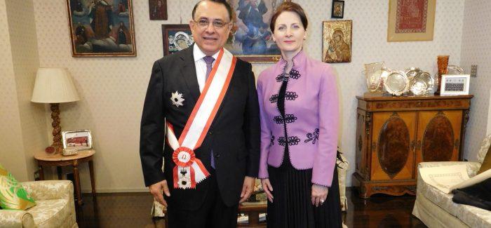 &nbspGobierno del Japón otorga condecoración al Embajador del Perú