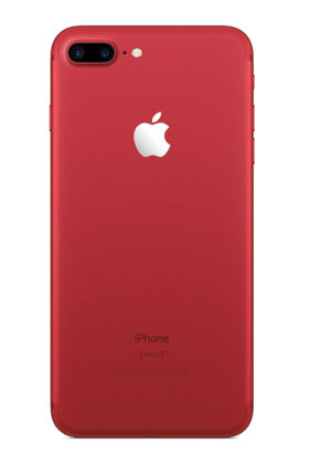&nbspNuevo color rojo para los iPhone 7/7 Plus de Apple