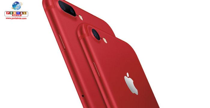 &nbspNuevo color rojo para los iPhone 7/7 Plus de Apple