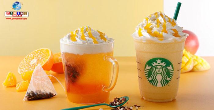 Nuevas bebidas de mango y mandarina de Starbucks