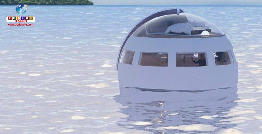 &nbspHotel que fluctúa en el agua será la nueva atracción del parque temático en Japón