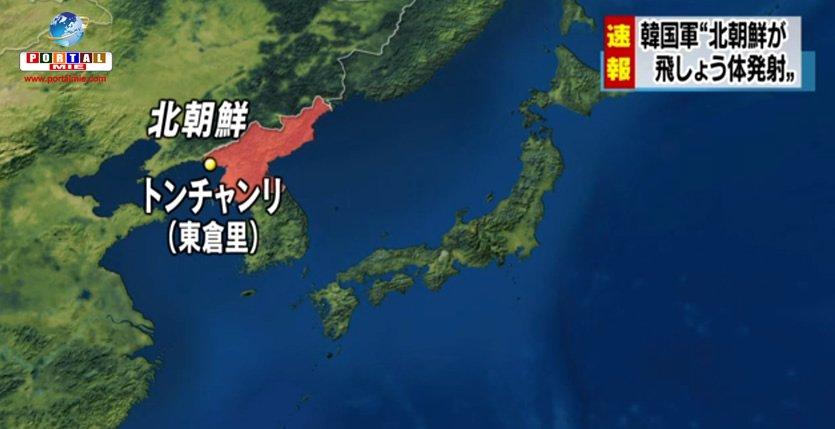 &nbspCorea del Norte dispara 4 misiles balísticos en dirección al Mar de Japón