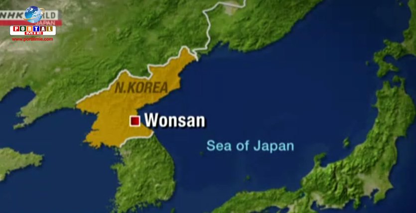 &nbspAyer Corea del Norte disparó varios misiles