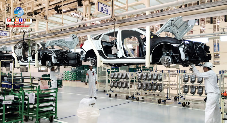 &nbspProducción en fábricas de automóviles en Japón aumenta por cuarto mes consecutivo