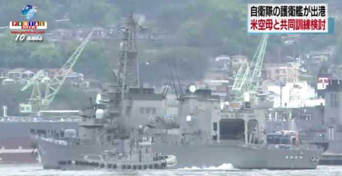 &nbspMinisterio de Defensa  pretende realizar entrenamientos junto al portaviones americano