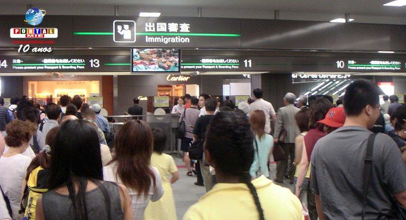 &nbspMás de 5.000 visitantes extranjeros tuvieron entrada rechazada en Japón