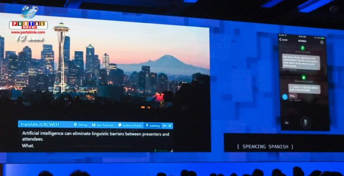 """&nbspMicrosoft anuncia inteligencia artificial de traducción """"casi instantánea"""""""