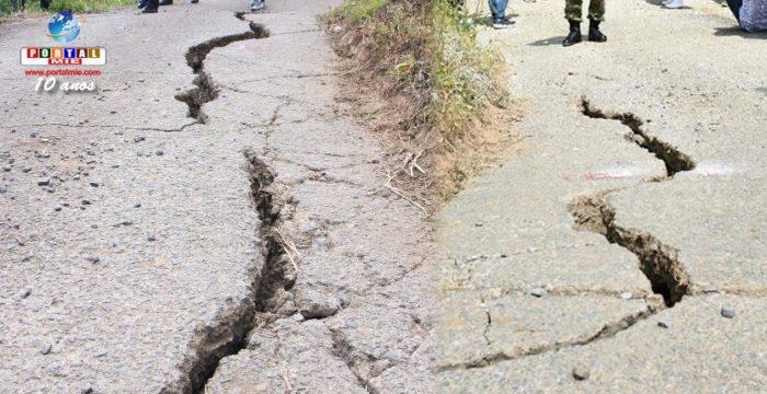 &nbspGrietas en el suelo al sur de Japón están aumentando