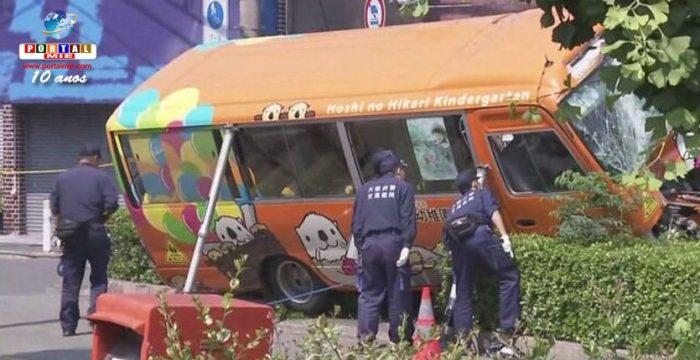 &nbspBus escolar pierde el control y entra a la vereda dejando 8 heridos, incluyendo niños