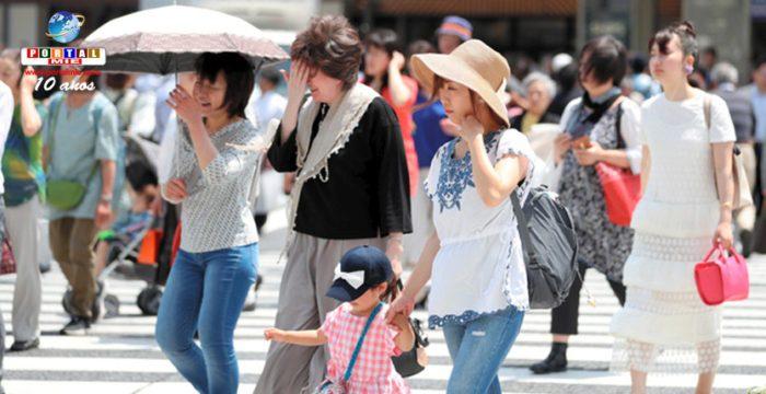&nbspTemperaturas elevadas por todo Japón